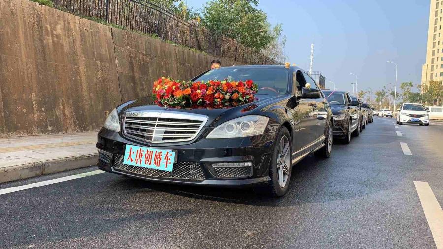 武汉大唐朝奔驰S级宝马7系婚礼头车系列超值特惠