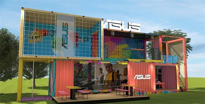 广州酷创汇设计打造集装箱筑,集装箱房屋,集装箱旅游区