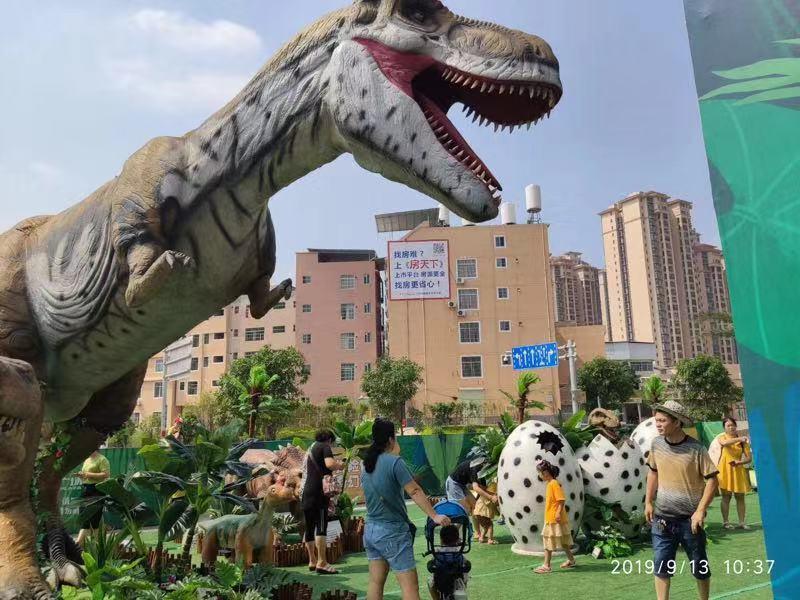 广东广州市大型仿真恐龙展模型租赁全国展览恐龙展巡展