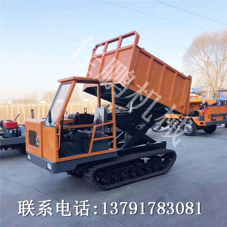 多功能履带运输车厂家 农用橡胶履带运输车 工程橡胶履带运输车