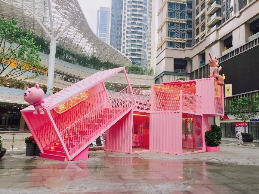 广州酷创汇设计打造集装箱办公区,集装箱旅游区,集装箱商业街