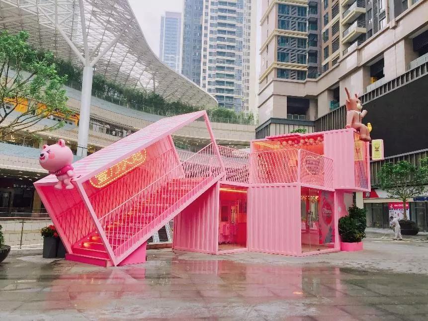 广州酷创汇设计打造集装箱度假区,集装箱商业街,集装箱办公区