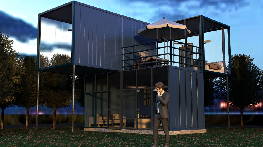 广州酷创汇设计打造集装箱旅游区,集装箱小镇,集装箱创意园区