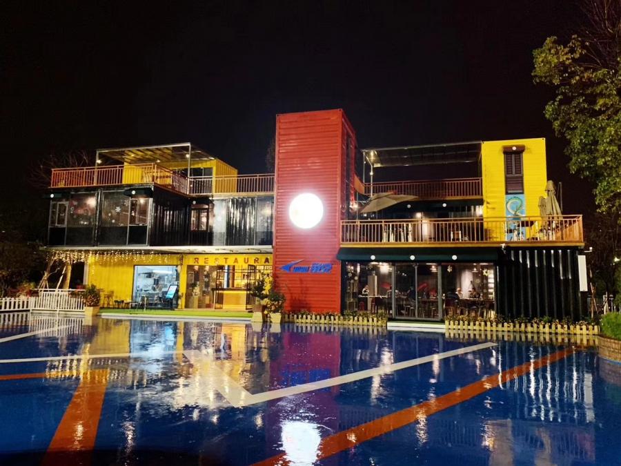 广州酷创汇设计打造集装箱餐厅,集装箱酒店,集装箱咖啡厅